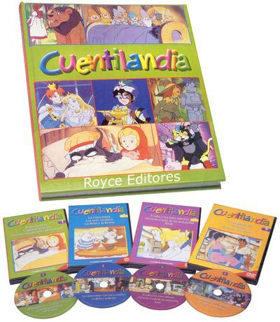 Cuentilandia con 4 DVDs